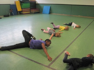 Learning involves stretching...