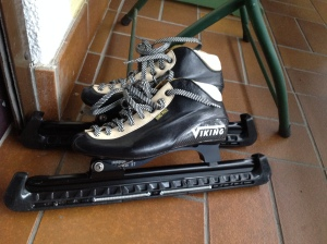 The skates await.