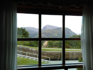 Banavie view of Ben Nevis